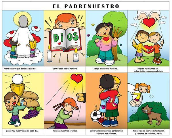 Oraciones Para Niños Y Vida De Santos Religión En El Aula